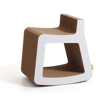 Dondolo Small Rocking Chair by Kubedesign