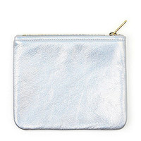 Small Metallic Carry-All Pouch