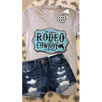 Rodeo Legacy Luke Perry Tribute Graphic tee (S-2XL)