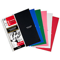 Five Star Trend Notebook 2 Pockets 8 x 10 12 1 Subject Wide Ruled 100 Sheets Assorted Colors No Color Choice by Office Depot & OfficeMax