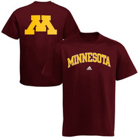 Minnesota Golden Gophers adidas Relentless T-Shirt – Maroon