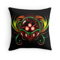 'Metroid ver2' Throw Pillow by likelikes
