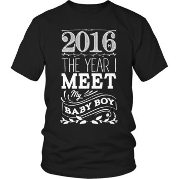 Limited Edition - 2016 The year I meet my baby boy