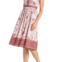 Gal Meets Glam Collection Esme Floral Fit & Flare Dress | Nordstrom