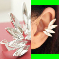 Angel's Wings Fashion Ear Cuffs (Adjustable, No Piercing)