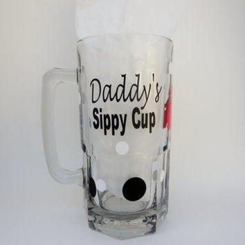 Daddy's Sippy Cup, Golf Gifts, GIfts For Men, Gifts For Dads, Beer Mugs With Vinyl, Drink Mugs, Iced Tea Glasses, Baby Shower Gifts
