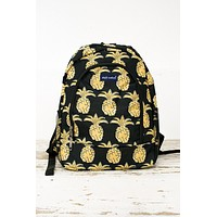 LuLu Pineapple Back Pack/ Simply Southern