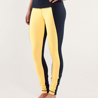 wunder under pant *colour blocked | women's pants | lululemon athletica