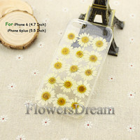 Pressed Flower iphone 6 case, iphone 6 plus, iPhone 5 case, iphone 5s case, iPhone 5c case, iPhone 4s case, Real Flowers-040