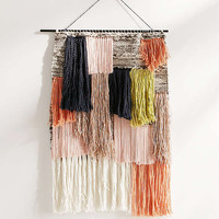 Woven Fringe Wall Hanging | Urban Outfitters