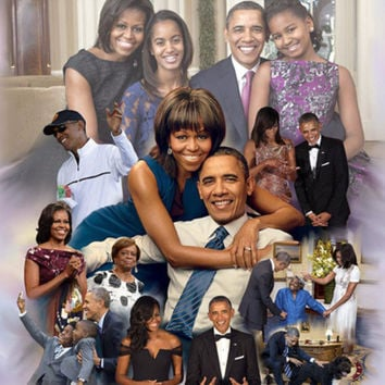 Thank You Mr. President and First Lady for 8 Great Years Art Print