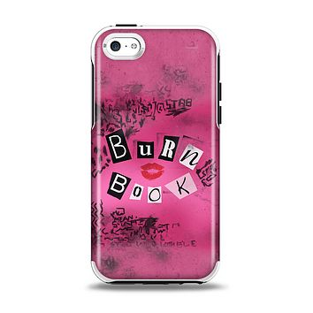 The Burn Book Pink Apple iPhone 5c Otterbox Symmetry Case Skin Set