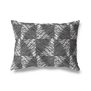 GEOMETRIC Lumbar Pillow By Michelle Parascandolo