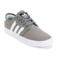 adidas Seeley Grey Canvas Skate