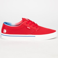 Etnies Jameson 2 Eco Mens Shoes Red/White/Blue  In Sizes