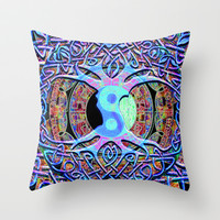 Tree of Life Mandala Dreams Throw Pillow by TreeofLifeShop