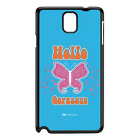 Sassy - Hello Gorgeous 10433 Black Hard Plastic Case for Galaxy Note 3 by Sassy Slang