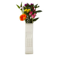 Brick Phone Vase | Retro Cellphone Flower Vase