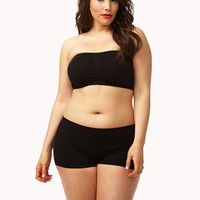 Ruched Layering Bandeau