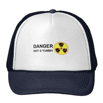 Nuclear Pizza Hot and Yummy Trucker Hat