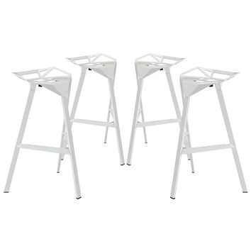 Launch Stacking Bar Stool Set of 4