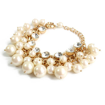 Shiny New Arrival Hot Sale Gift Great Deal Awesome Korean Accessory Stylish Pearls Bracelet [6586246471]
