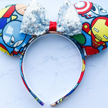 Marvel Avengers Minnie Mouse ears