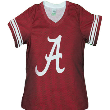 Alabama Jersey Collegiate Swoop-Neck
