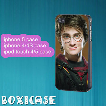 Harry Potter---iphone 4 case,iphone 5 case,ipod touch 4 case,ipod touch 5 case,in plastic,silicone and  black , white.