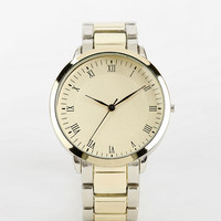 Two-Tone Sports Bracelet Watch - Urban Outfitters