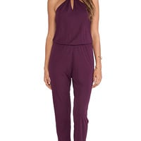 Rory Beca Chaos Jumpsuit in Wine