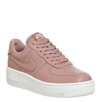 Nike Air Force 1 Upstep Trainers Red Stardust Sail - Hers trainers
