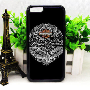 HARLEY DAVIDSON MOTORCYCLES TYPOGRAPHY ART IPHONE 6 | 6 PLUS | 6S | 6S PLUS CASES