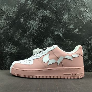 Nike Air Force 1 07 Low Pink White Sneakers - Best Deal Online