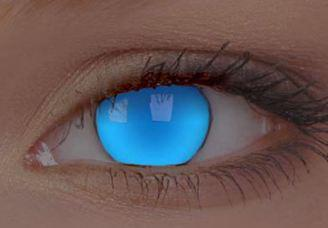 Uv Electric Blue Contact Lenses Uv Blue From Eyesbright