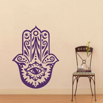 Hamsa Hand B Vinyl Wall Decal