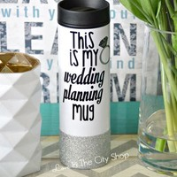 Wedding Planner Travel Tumbler
