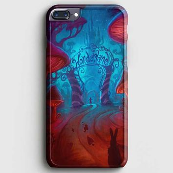 Alice In Wonderland Night iPhone 7 Plus Case