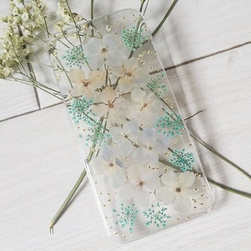 Handmade Real  natural pressed colorful flowers iphone 6 6 plus case iphone 4s 5 5s 5c case samsung galaxy s5 note 2 note 3 case cover