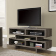 """Dark Taupe Reclaimed-Look Hollow-Core 48""""L Tv Console"""