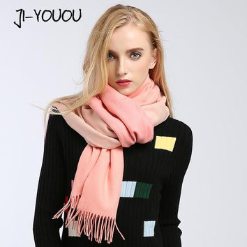 2017 winter women's scarf scarves for women shawl stoles collar cashmere scarf cloak blanket warm bandana ponchos and capes