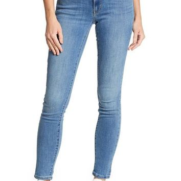 DCCKHB3 Levi's | 711 Simple Blue Skinny Jeans - 30' Inseam
