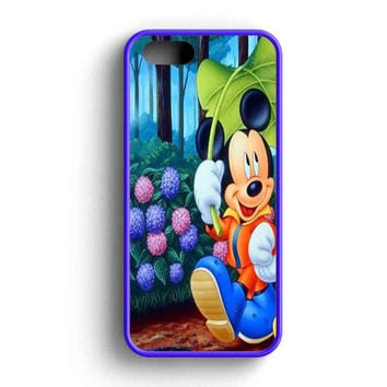 Mickey And Minnie Mouse Romantic  iPhone 5 Case iPhone 5s Case iPhone 5c Case