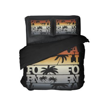 Surfer Bedding CALIFORNIA Surf Comforter Set