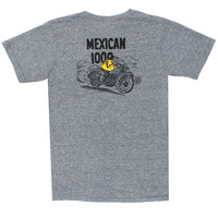 Mickey Rat racing in the 1967 Mexican 1000 (Small front & Large back Graphic) (M & XL Only)