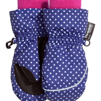 H&M - Gloves - Blue/polka dot - Kids