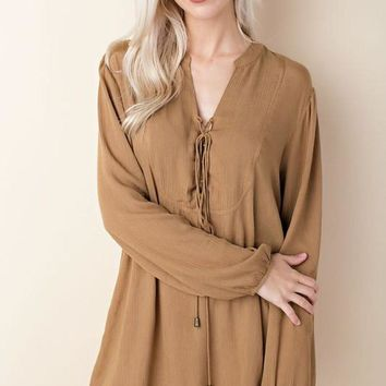 Now and Forever - Long Sleeve Dress