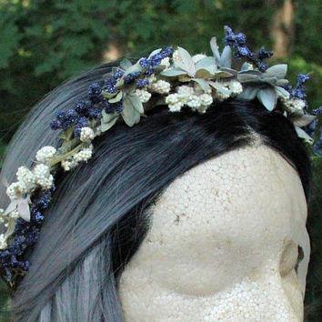 Spring/Summer * Floral Hair Piece * Headband * Hair Crown * Hair Wreath * Easter * Witchcraft * Wicca * Pagan * Pastel Goth * Mori Girl *