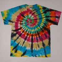 Swirl w/ Black - Tie Dye Shirt or Tank - Any Size, Style (Adults & Kinds) and Color Combination