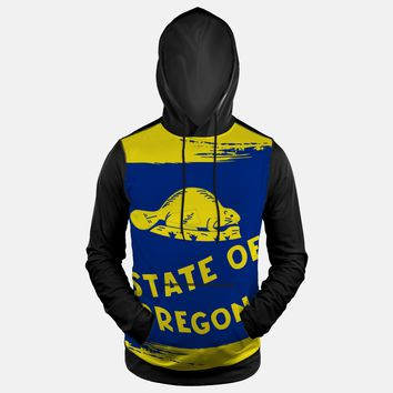 Oregon State Flag Hoodie (Ships in 2 Weeks)